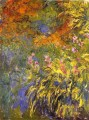 Irises Claude Monet Impressionism Flowers