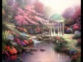 Pools of Serenity Thomas Kinkade Impressionism Flowers