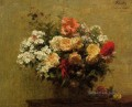 Summer Flowers flower painter Henri Fantin Latour