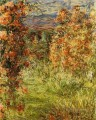 The House among the Roses Claude Monet Impressionism Flowers