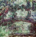 The Japanese Bridge Claude Monet Impressionism Flowers