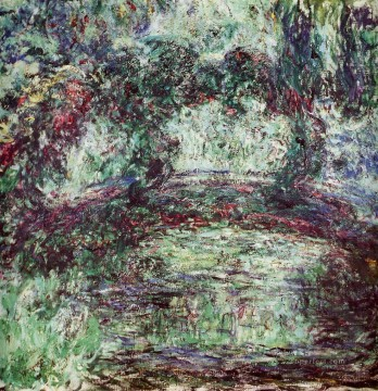 The Japanese Bridge Claude Monet Impressionism Flowers Oil Paintings