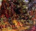 The Path at Giverny Claude Monet Impressionism Flowers