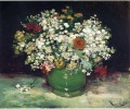 Vase with Zinnias and Other Flowers Vincent van Gogh