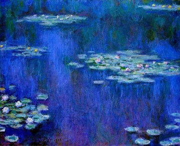 Water Lilies 1905 Claude Monet Impressionism Flowers Oil Paintings