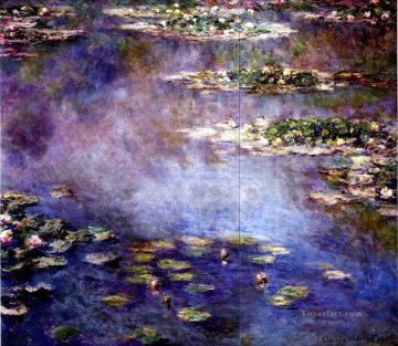Water Lilies 1906 Claude Monet Impressionism Flowers Oil Paintings