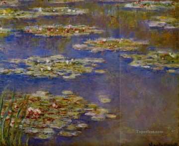 Water Lilies VII Claude Monet Impressionism Flowers Oil Paintings