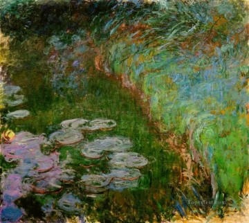 Water Lilies XVI Claude Monet Impressionism Flowers Oil Paintings