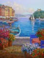 memories of portofino Impressionism Flowers