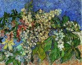 Blossoming Chestnut Branches Vincent van Gogh Impressionism Flowers