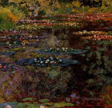 Water Lilies IX Claude Monet Impressionism Flowers Oil Paintings