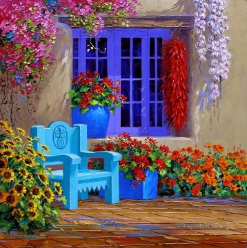 twice the spice Impressionism Flowers Oil Paintings