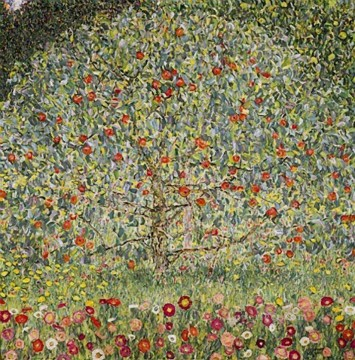 Apfelbaum I 1912 Symbolism Gustav Klimt Oil Paintings