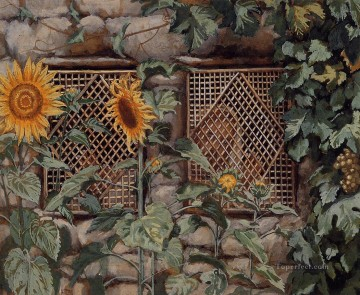 Behold He Standeth behind Our Wall James Jacques Joseph Tissot Oil Paintings