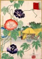 morning glory Utagawa Hiroshige floral decoration
