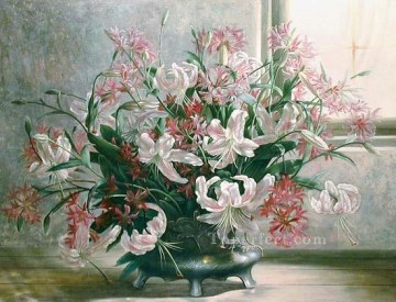 xsh066bB realistic from photograph flowers Oil Paintings