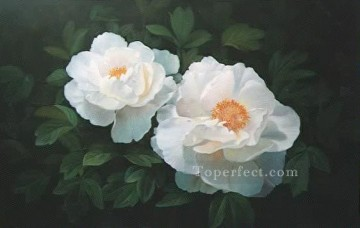 xsh072bB realistic from photograph flowers Oil Paintings