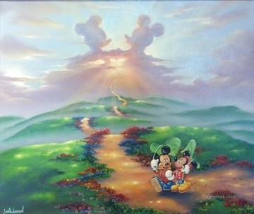 Disney Painting - Mick Min Forever cartoon for kids