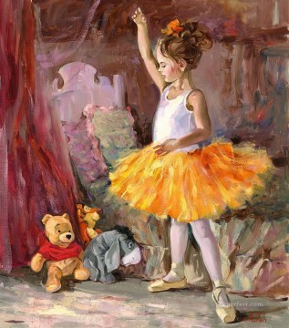 Disney Painting - My First Audience IS Disney