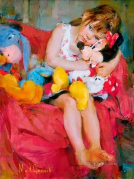 Disney Painting - Pretty Girl MIG 33 Disney