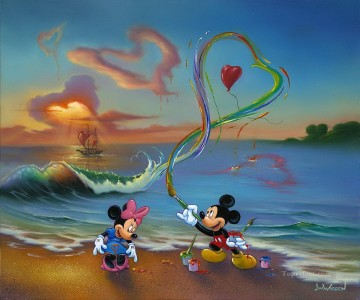 For Kids Painting - JW Mickey The Hopeless Romantic cartoon for kids
