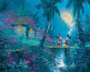 For Kids Painting - Moonlight Proposal Coleman cartoon for kids