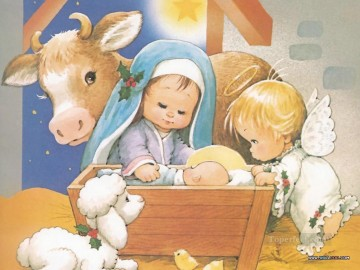 Disney Painting - The Christmas Story cartoon for kids