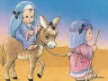 The Christmas Story to Egypt cartoon for kids