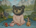 human bear cub cartoon for kids