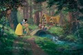 A Sweet Goodbye snow white cartoon for kids