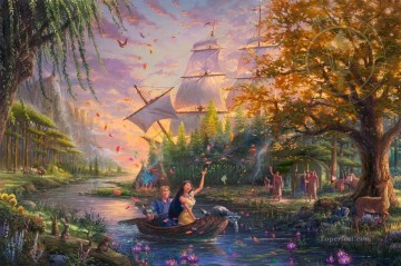 Artworks in 150 Subjects Painting - Pocahontas Disney