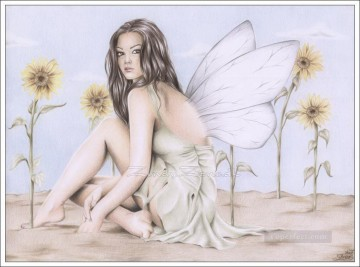 Fairy Painting - fairy of september for kid