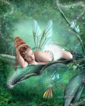 Fairy Painting - just another fairy day for kid