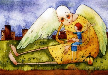 Fairy Painting - vk angels bounded for kid