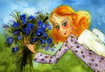 Fairy Painting - vk angels flower girl for kid