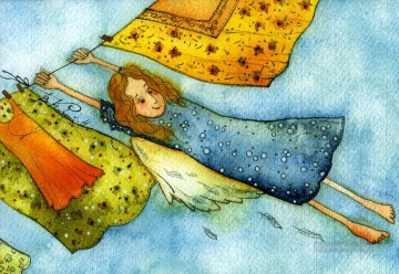 Fairy Painting - vk angels in the wind for kid