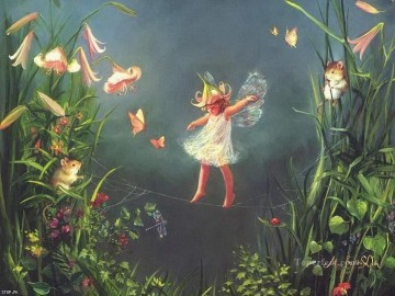 Fairy Painting - Flower Fairy for kid