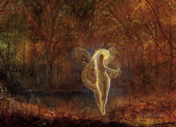 Fairy Painting - John Atkinson Grimshaw Autumn Sun for kid