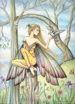 Fairy Painting - Messenger to fairy for kid