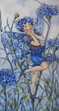 Fairy Painting - PR VILE  Mary Barker for kid