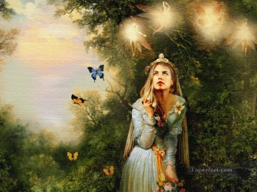 Fairy Painting - fairies and butterfly for kid