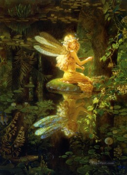 Fairy Painting - fantasy art claires wings for kid