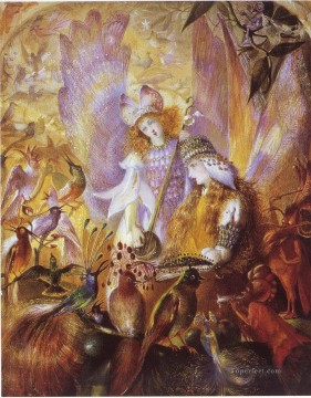 Fairy Painting - john anster fitzgerald the concert for kid