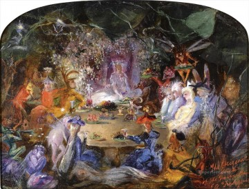 Fairy Painting - John Anster Fitzgerald fairy for kid