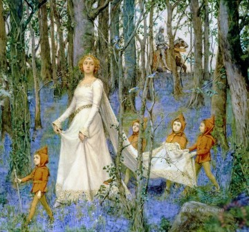 Fairy Painting - henry meynell rheam the f for kid
