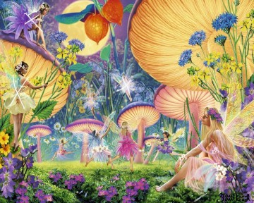 Fairy Painting - fairies in Spring for kid