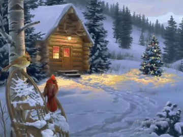 Christmas Painting - XS019 kids Santa Claus Christmas