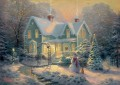 Blessings of Christmas Thomas Kinkade kids