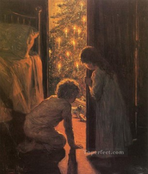 Christmas Painting - The Christmas Tree kids
