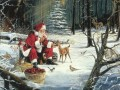 XS029 kids Christmas Santa Claus
